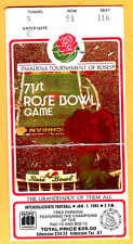 *ONLY $9.99...1985 ROSE BOWL TICKET STUB-USC VS. OHIO STATE