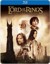 Lord of the Rings: The Two Tow (2013, REGION A Blu-ray New) BLU-RAY/WS/Steelbook