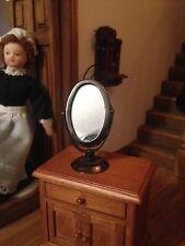 1/12  DOLLS HOUSE LOVELY  vanity mirror   LOOKS VERY REALISTIC