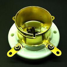 4 PIN Jumbo in Ceramica Valvola di bloccaggio TUBI presa per 211, 845 Placcato Oro