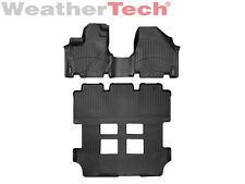 WeatherTech® DigitalFit FloorLiner for Honda Odyssey - 2011-2017 - Black
