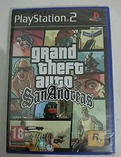 Grand Theft Auto San Andreas GTA  PS2 Playstation 2 ITALIANO NUOVO SIGILLATO RAR