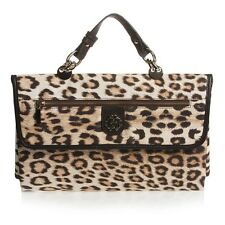 ROBERTO CAVALLI LEOPARD PRINT TRAVEL CHANGING MAT BAG