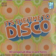 IT'S THE TIME TO DISCO - 10 ORIGINAL DISCO ANTHEM - BRAND NEW CD - FREE UK POST