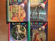 Meyer's kleine Kinderbibliothek -  Licht an [4 Bd] Burg Dschungel Wald Weltall