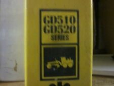 Komatsu GD510 GD520 Series Motor Grader Repair Shop Manual