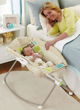 Fisher Price Bedside Sleeper Rocker Infant Newborn Soothing  Bassinet  Inclined