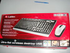 Labtec Ultra Flat Media Wireless Desktop