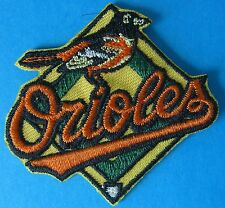 (2) New Baltimore Orioles Embroidered Team Logo Patches (Logo 1999 - 2008)
