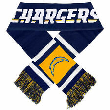 """San Diego Chargers Knit Winter Neck Scarf NEW 65"""" 2012 Team Stripe!"""