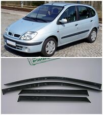 For Renault Scenic I 1996-2003 Side Window Visors Sun Rain Guard Vent Deflectors