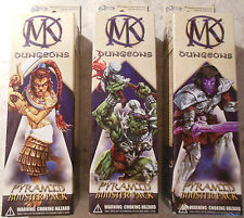WizKids Mage Knight Lot of 3x Dungeons Pyramid Booster Packs (Mint, Sealed)