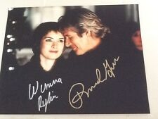 Richard Gere & Winona Ryder  SIGNED 8x10 Photo  2000 Autumn in New York