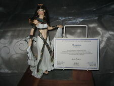 "Danbury Mint ""CLEOPATRA"" Egyptian Figurine by Martin Evans with COA"