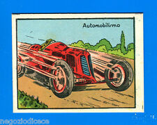 A010 FIGURINA CARTONATA -Anni 50??- Figurina-Sticker - AUTOMOBILISMO -New