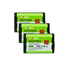 3pcs Cordless Phone Batteries 3.6V AAA 800mAh for Panasonic HHR P107 PKCELL NEW