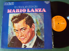 MARIO LANZA : disque d'or - BO film SERENADE (1956) - LP French re-issue 1970s
