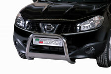 "Nissan Qashqai  2010 -2013  Ø63mm BULL BAR NUDGE BAR  ""CE APPROVED""  Frontbügel"