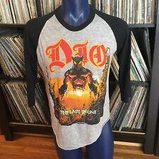VINTAGE DIO 1984 The Last In Line TOUR concert metal rock Baseball tee T-shirt