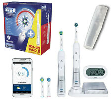 NEW BRAUN ORAL-B PRO 6500 SMART SERIES BLUETOOTH TECHNOLOGY ELECTRIC TOOTHBRUSH