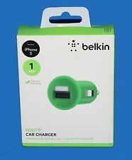 BELKIN MIXIT 1A micro USB Car Charger for iPod, iPhone 5 ,5S ,6 ,6 plus  - Green