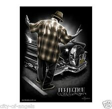 Perfection Lowrider Gangster Cholo By David Gonzales Art DGA 18 x 24 Poster