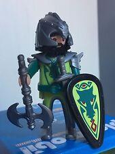 PLAYMOBIL VINTAGE MEDIEVAL Bárbaro Dragón Verde Barbare Dragon Drago