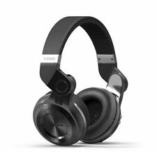 Bluedio Turbine Hurricane T2 Wireless Bluetooth  Stereo Headphones Headset Black