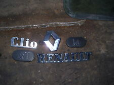 1993 RENAULT CLIO MK1 BADGE BUNDLE, FAST DISPATCH CAR PART