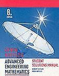 Advanced Engineering Mathematics, Student Solutions Manual