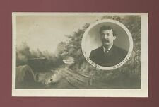 Religion Salvation Army Evangelism GIPSY SMITH caravan bi-view used 1904 RP PPC