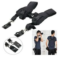 Double Shoulder Neck Strap Sling Belt For Digital SLR DSLR Camera Bags Accessory
