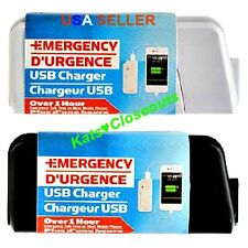 USB Emergency Portable 2 AA Battery Power Charger for Cell Phones Hunting Trips
