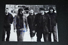 LIMP BIZKIT signed Autogramm 20x30 cm In Person komplette Band !! Fred Durst WES