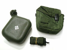 2 Quart Collapsible Canteen w/ Cover & Sling OD Green Skilcraft Unicor