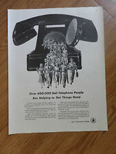 1950 Hammermill Papers Ad  Designing Printing Theme 1950 Bell Telephone Ad