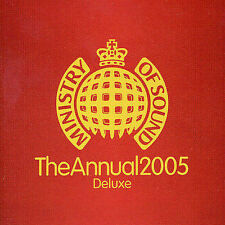 FREE US SH (int'l sh=$0-$3) ~LikeNew CD Ministry of Sound: Annual 2005 Import