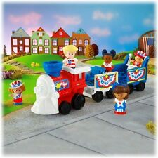 Fisher Price Little People Holiday Fourth of July 4th Hooray Red White Blue 2013