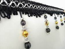 Wholesale 1M Colorful Beaded Fringe/Trim Sewing/Costume/Crafts/Corsetry/Wedding