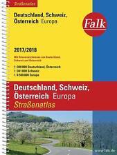 Falk Straßenatlas Deutschland, Schweiz, Österreich, Europa 2017/2018