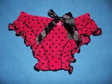 Lovely Ladies/Womens Briefs Knickers Panties Underwear Red Size S
