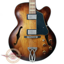 Brand New Ibanez AFV10A Artcore Vintage Semi-Hollow Body Guitar Tobacco Burst