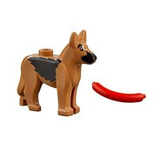 LEGO DOG GERMAN SHEPHERD Hotdog City Police Animal Minifigure