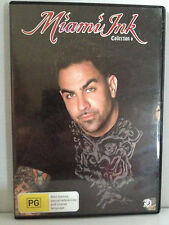 MIAMI INK ~ COLLECTION 6 ~ 3 DISC DVD SET ~ 508 MINS ~ PAL REGION 4 ~ FREE POST