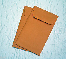 "50  31/2""x 61/2"" Paper Coin Envelopes Kraft Acid Free"