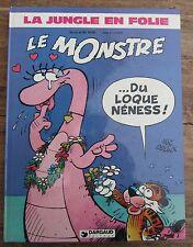 BD LA JUNGLE EN FOLIE LE MONSTRE DU LOQUE NENESS ! 1980 DELINX