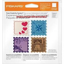 Fiskars Fuse Creativity Expansion Pack STAMP Die Cut & Letterpress  100990