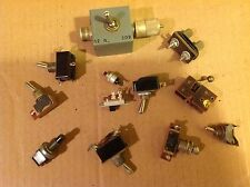 Vintage  radio  ,electronics ,switch   1 lot , approx.12 ea