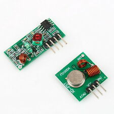 RF transmitter and receiver link kit for Arduino/ARM/MC U remote control LU