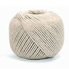 100M White Linen String Hemp Twine Rope Cord Ball for Arts Crafts Decoration